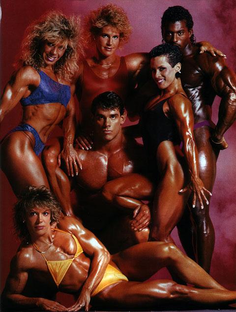 bodybuilders 1980s