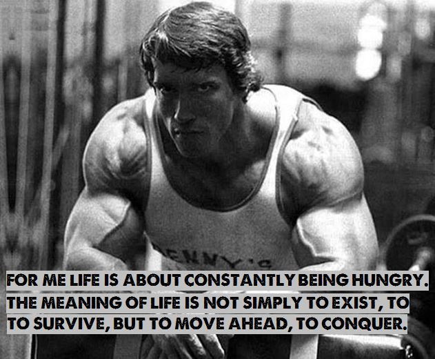 Arnold Motivational Quote 03