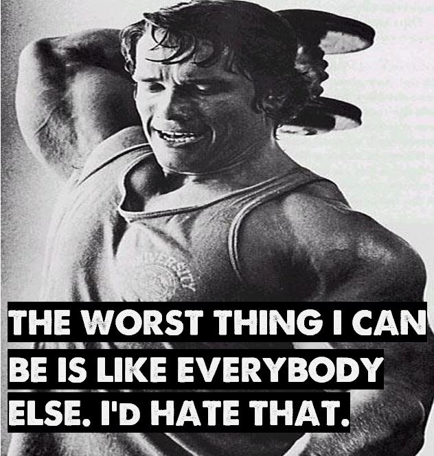 Arnold Motivational Quote 06