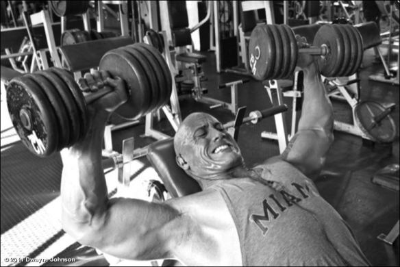 the rock work out videos