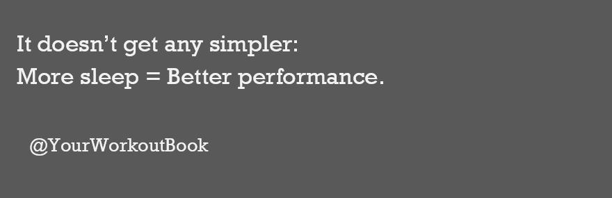 Better Sleep Better Performance