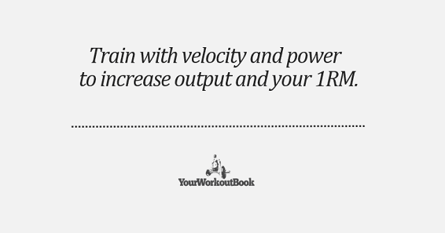 Train with Velocity and Power