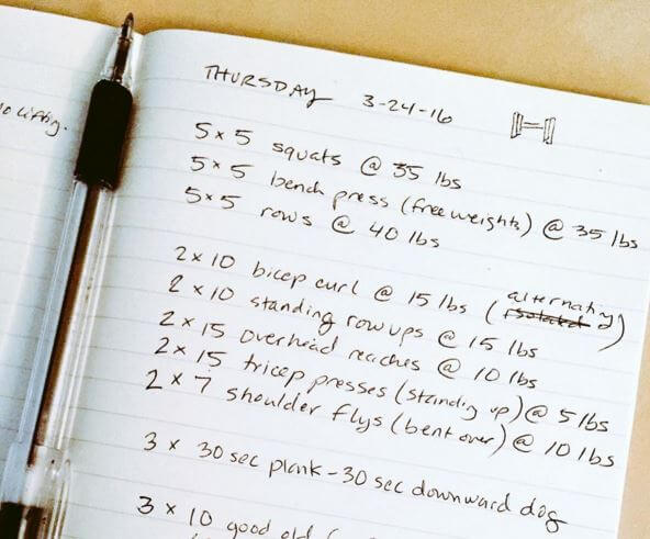 Punish Your Workouts: How to Make the Most of Your Training Log