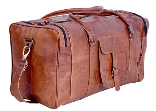KP 21 inch Vintage Gym Duffel Bag