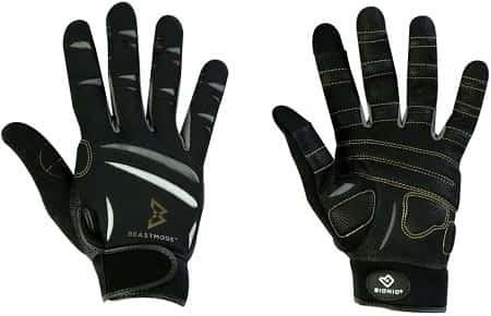 BIONIC Beast Mode Full Fingered Workout Gloves-min