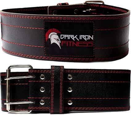 Best Leather Weight Lifting Belt - Dark Iron Fitness