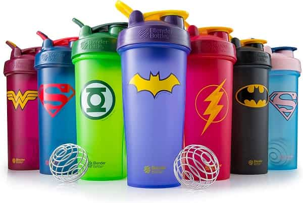 Best Shaker Cups - BlenderBottle Justice League Superhero Classic