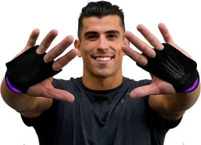 Best Weight Lifitng Gloves - Bear KompleX 3 Hole CrossFit Grips