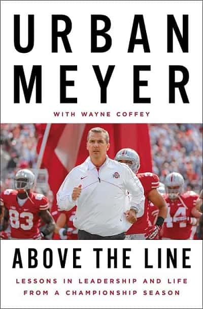 Books for Coaches -- Above the Line by Urban Meyer