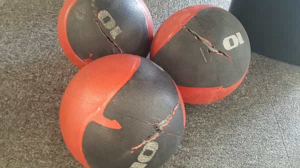 Medicine Ball Slams - Split Medicine Ball