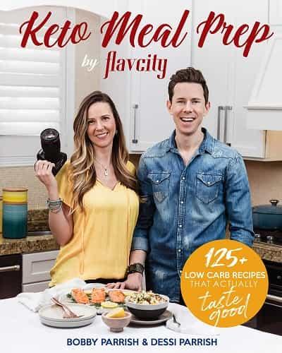 Best Meal Prep Cookbooks - Keto Meal Prep by FlavCity