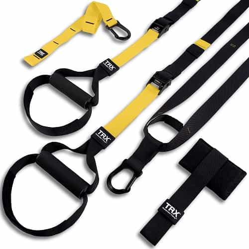 Best Travel Workout Equipment -- TRX straps