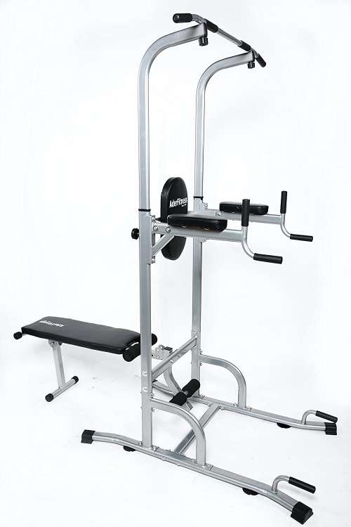 Ader VKR Power Tower with Sit-Up Bench