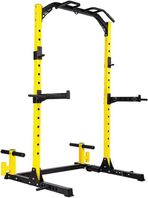 Hulkfit Power Half Rack for Home Gym