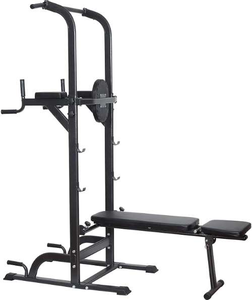 Reliancer Power Tower with Adjustable Bench