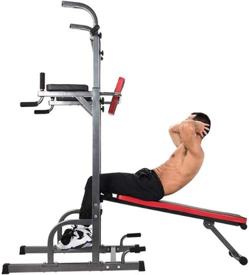 Zelus Multifunction Power Tower with Bench