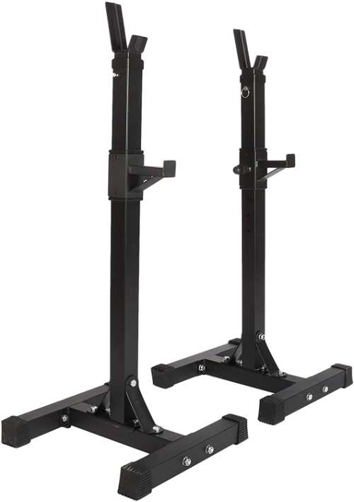 tonchean Barbell Squat Stand Rack