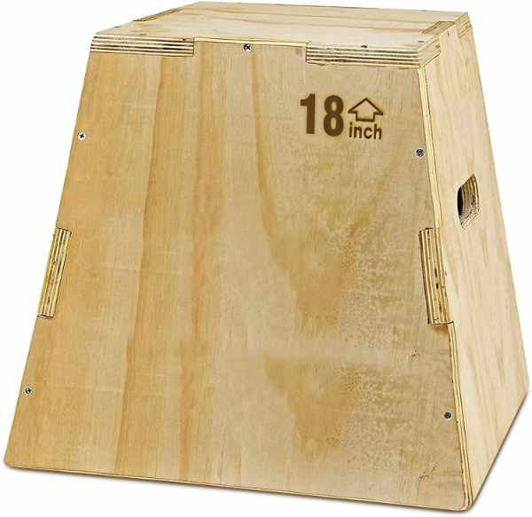 Alpha Strong Wooden Plyo Box