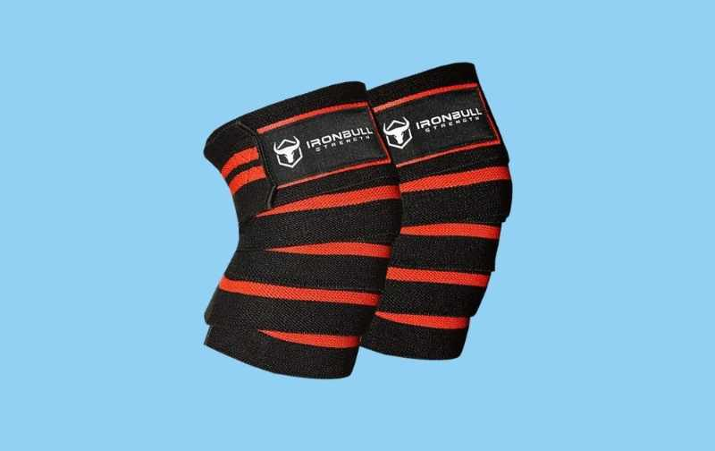 Iron Bull Strength Knee Wraps