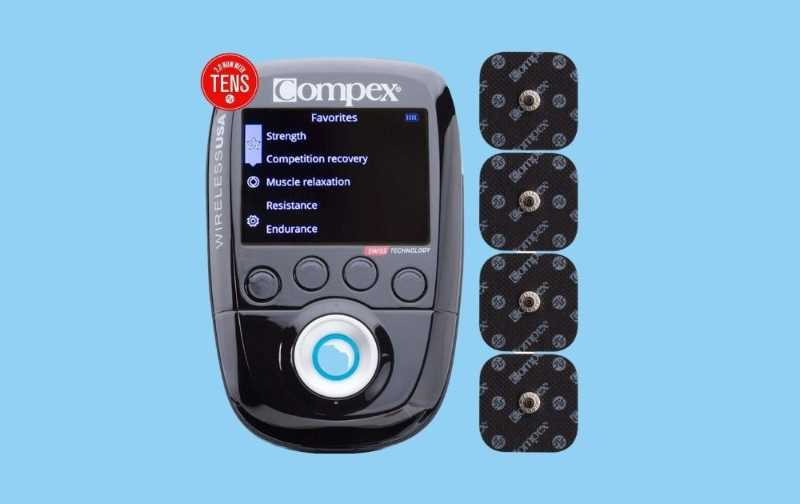Compex Wireless 2.0 Stimulator with Tens