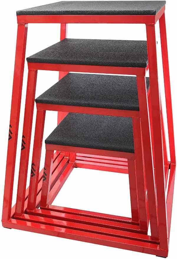 JFIT Plyometric Steel Boxes