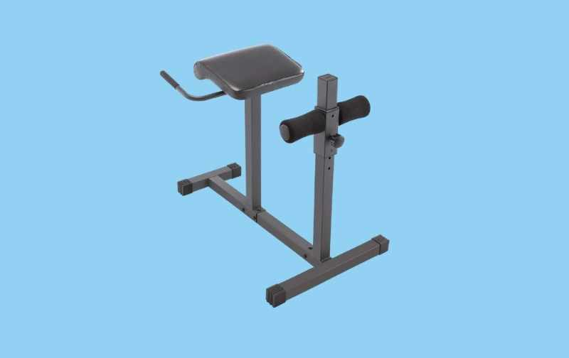 Marcy Adjustable Hyperextension Roman Chair