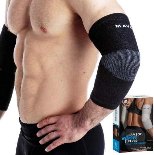 Mava Sports Elbow Compression Sleeve