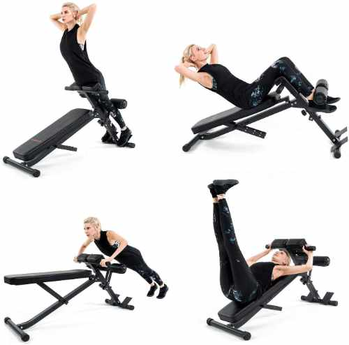 Vanswe Adjustable Ab Bench