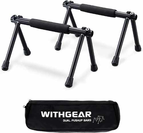 Withgear Folding Pushup Bars