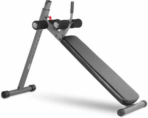 XMark Adjustable Decline Sit-Up Bench