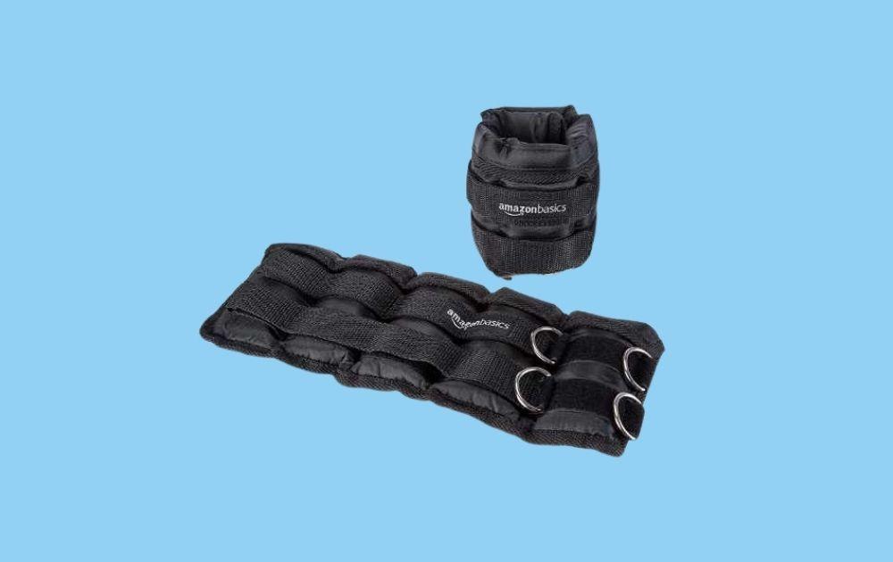 Amazon Basics Adjustable Ankle Weights