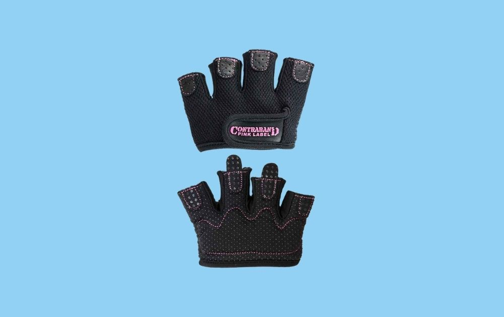 Contraband Pink Label Micro Women's Weightlifting Gloves