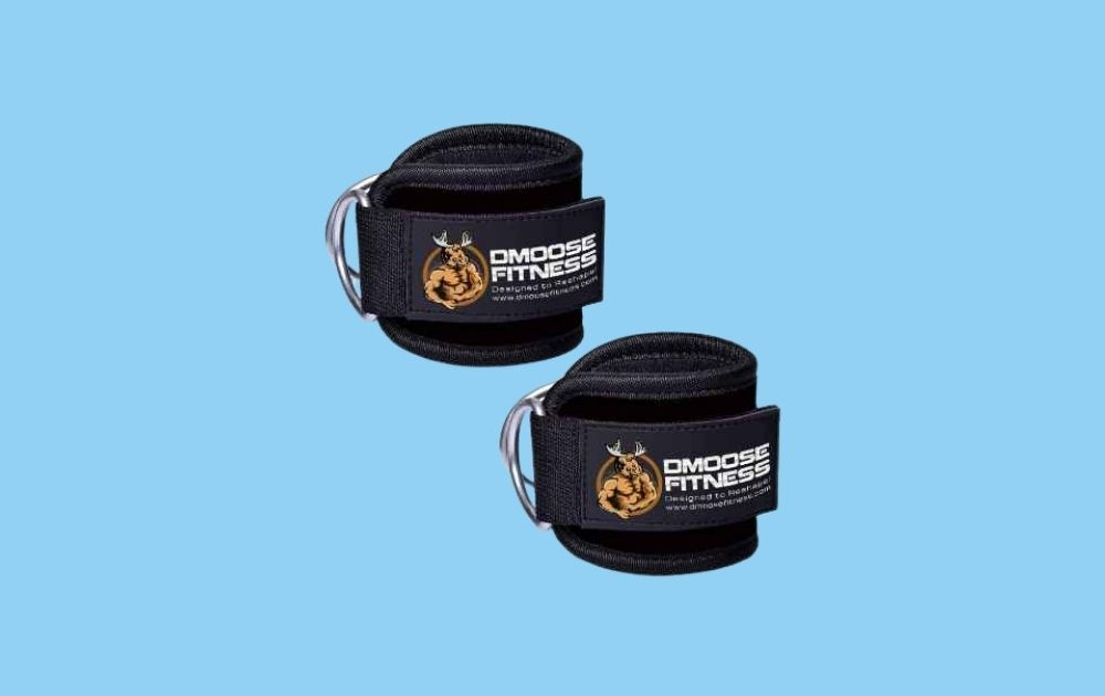 DMOOSE Fitness Ankle Straps for Cable Machines