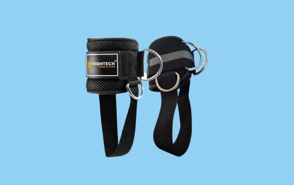 FIGHTECH PRO Series Ankle Straps for Cable Machines
