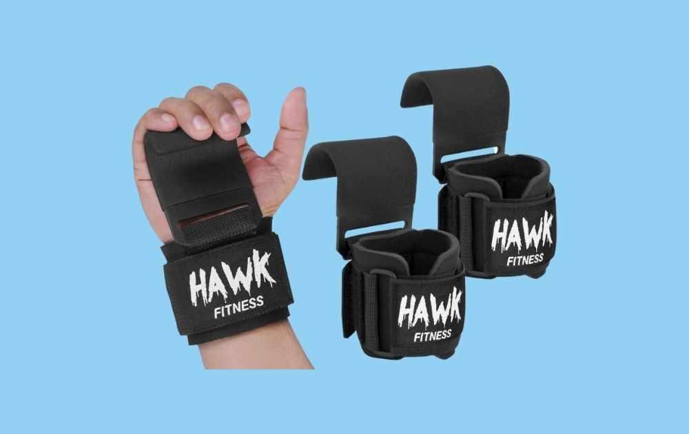 Hawk Fitness Weight Lifting Hooks
