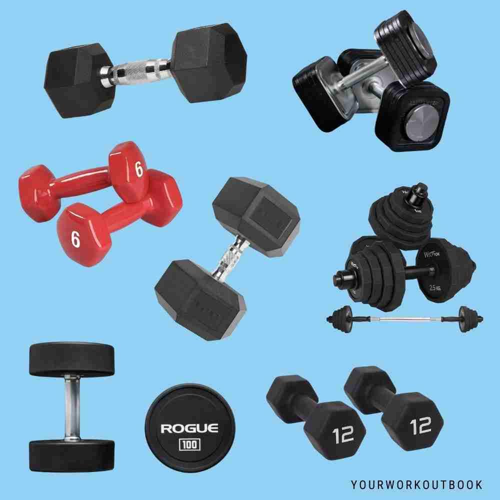Best Dumbbells for Home Gyms