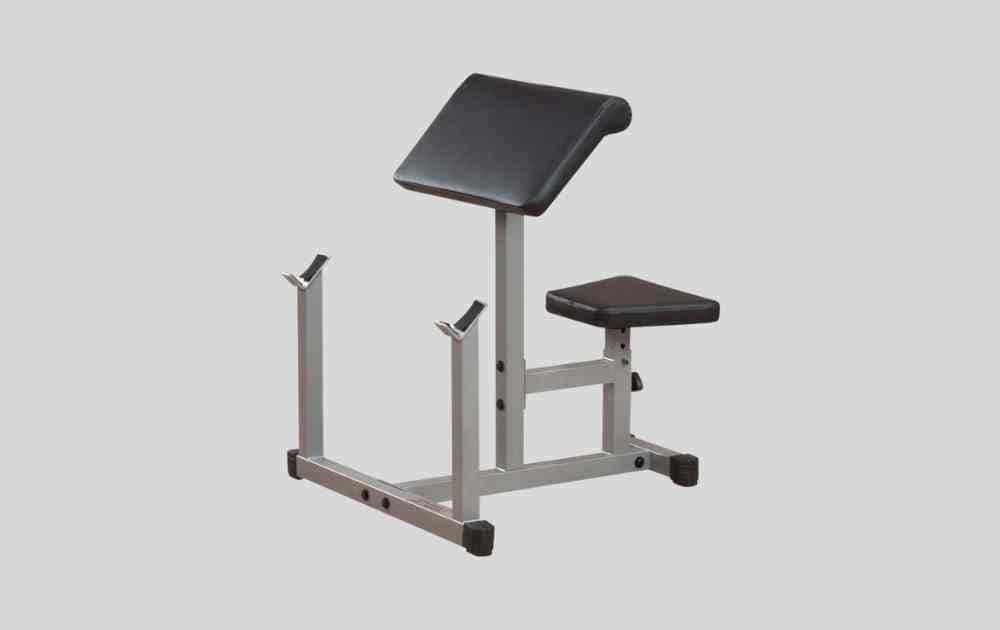 Body-Solid Powerline Adjustable Preacher Curl Bench