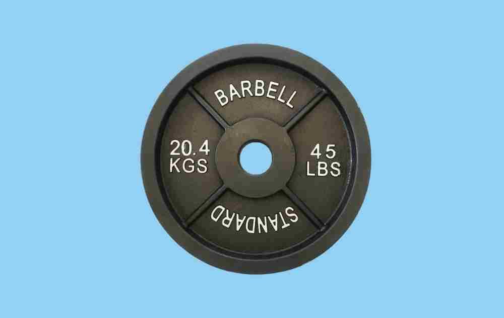 Daneli Olympic Weightlifting Iron Plates