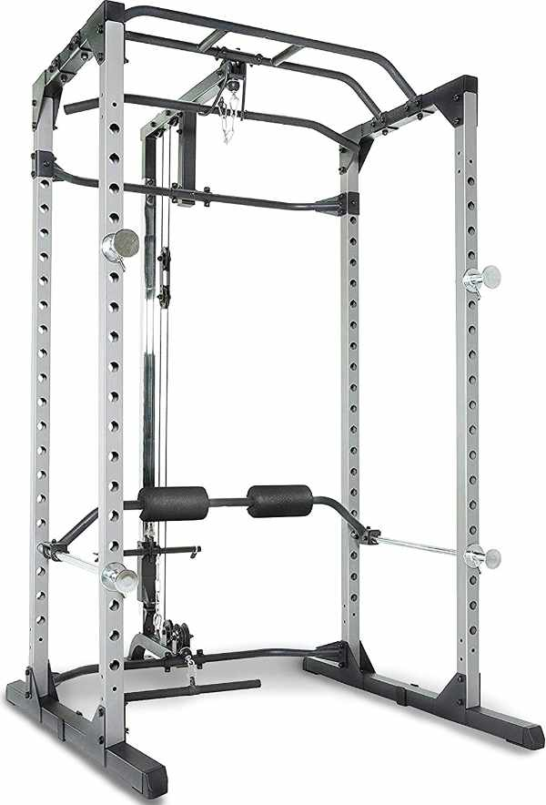 Fitness Reality 810XLT Super Max Power Cage with Lat Pull Down Attachment