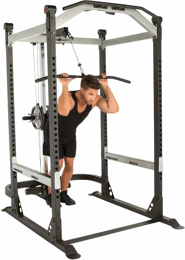 Fitness Reality X-Class Commercial Grade Power Cage with Lat Pulldown