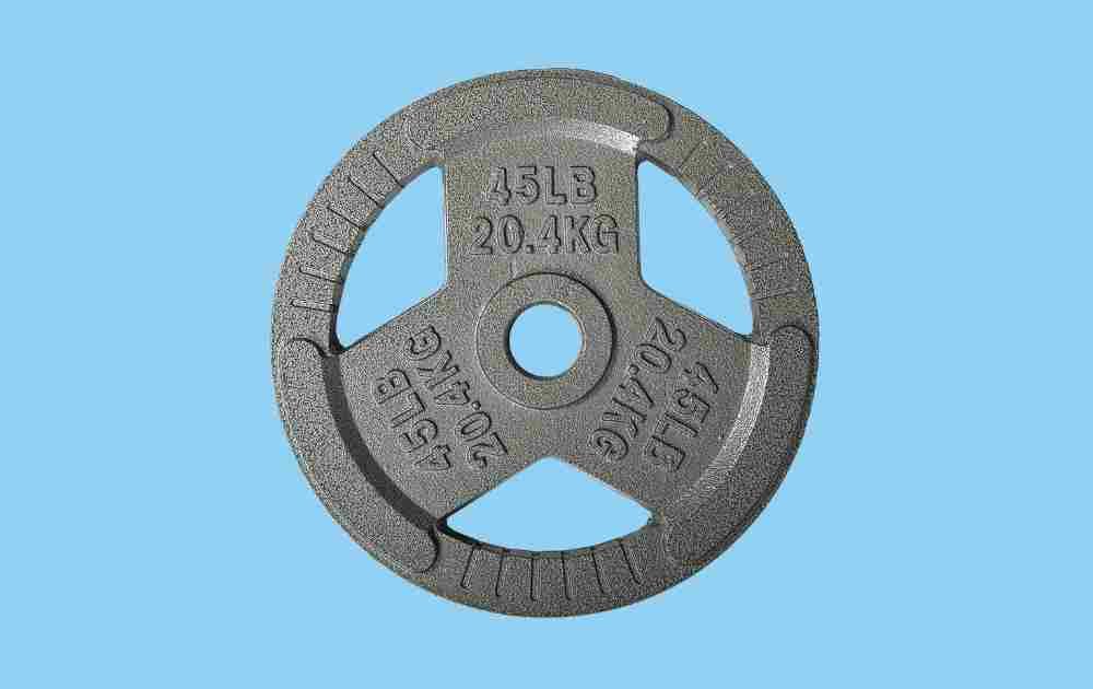 HulkFit Cast-Iron Weight Plates