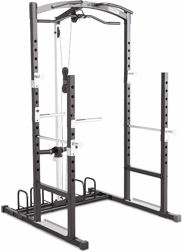 Marcy Home Gym Cage System with Lat Pulldown