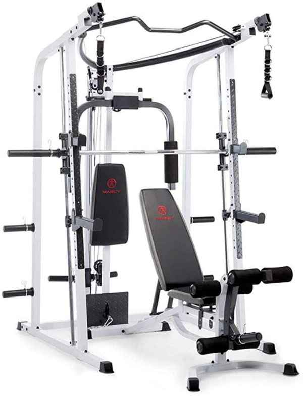 Marcy Pro Smith Cage Workout Home Gym System