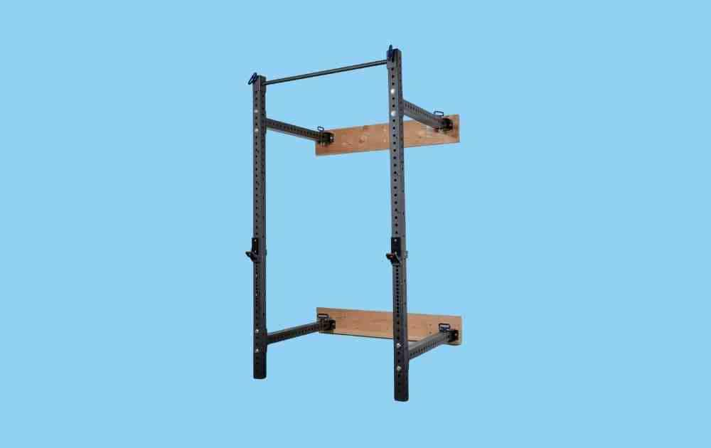 Rep Fitness 4100 Series Foldable Wall Mounted Squat Rack