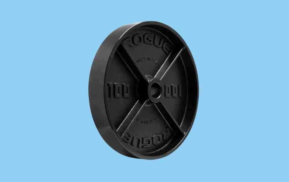 Rogue Deep Dish Cast Iron Weight Plate