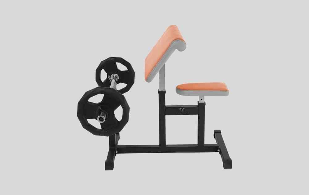 StrengthTech Fitness Preacher Curl Weight Bench