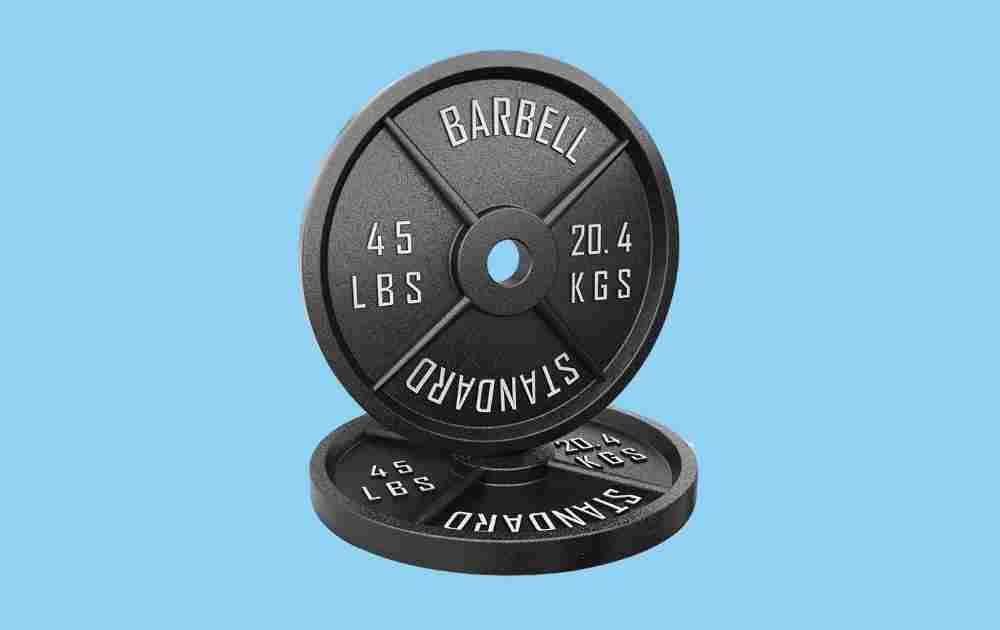 Synergee Olympic Steel Weight Plates