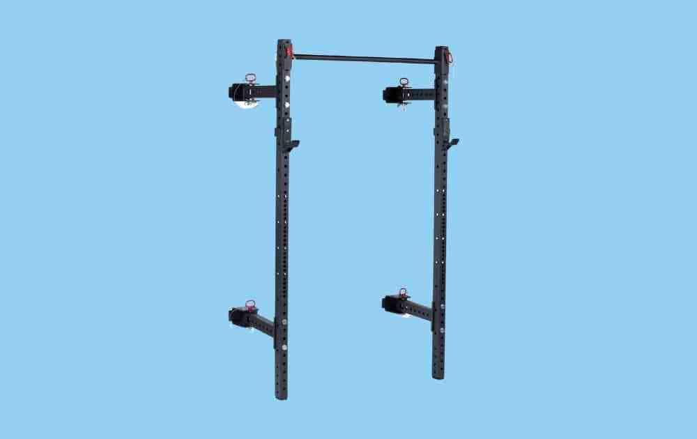 Titan Fitness T-3 Series Folding Wall-Mounted Power Rack