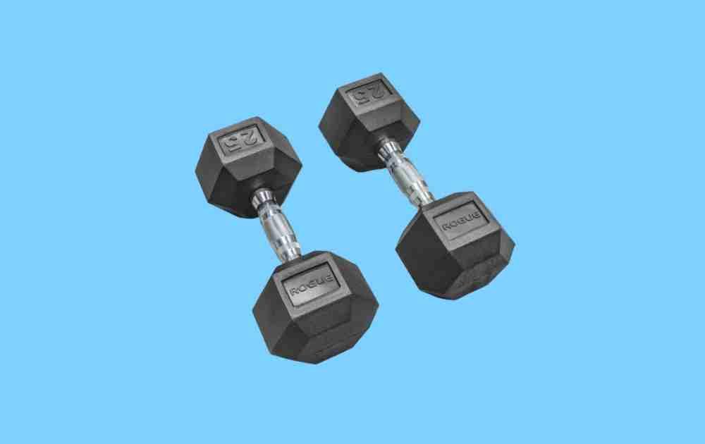 Best Dumbbell Sets - Rogue Hex Dumbbell Set