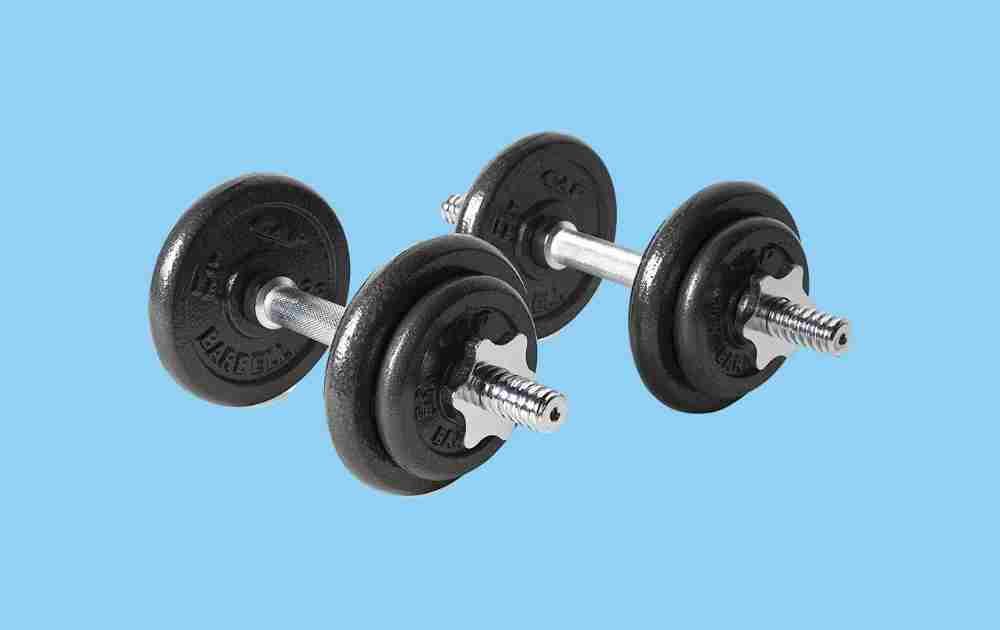 CAP Barbell Adjustable Dumbbell Cast Iron Set